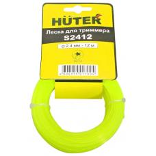 Леска для садовых триммеров Huter S24100 d=2.4мм L=100м для Hunter GGT-800S(T)/1000S(T)/1300S(T)/1500S(T) (71/2/4)