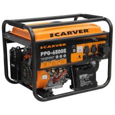 Бензиновый генератор Carver PPG-6500Е