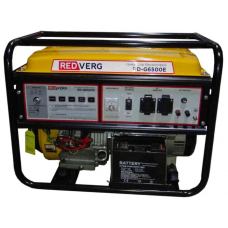 Бензиновый генератор RedVerg RD-G6500E (6000 Вт)