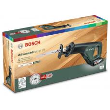 Сабельная пила Bosch AdvancedRecip 18 без АКБ и ЗУ