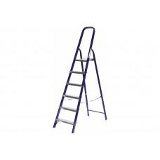 Лестница-стремянка СИБИН стальная, 6 ступеней, 124 см [38803-06]