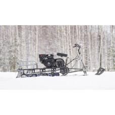 Мотобуксировщик Irbis МУХТАР 15 с лыжным модулем