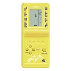 Игровая приставка Simbas BRICK GAME (тетрис) желтый