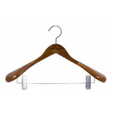 Вешалка Attribute AHO261 для верхней одежды с клипсами STATUS 44см