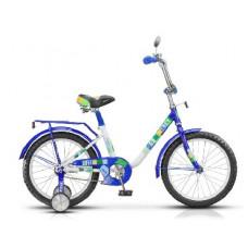 Детский велосипед Stels Flash 12-8.5 Синий/белый