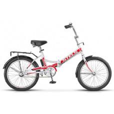 Велосипед Stels Pilot-410 20 Белый/красный