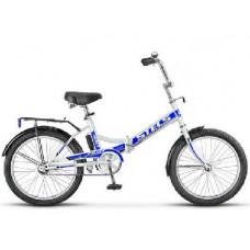 Велосипед Stels Pilot-410 20 Белый/синий