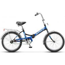 Велосипед Stels Pilot-410 20 Чёрный/синий