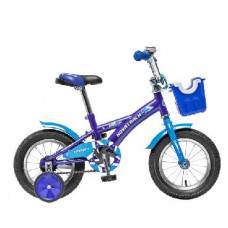 Детский велосипед Novatrack 124 DELFI.BL5 12