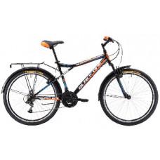 """Велосипед Black One Active 26 черно-оранжевый 16"""""""
