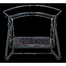 Садовые качели Венеция бордо + столик