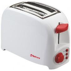 Тостер Sakura SA-7601R бело-красный