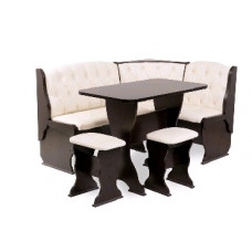 Набор кухонной мебели Бител Орхидея ЛЮКС Венге/Барнео Крем (Кремовый)