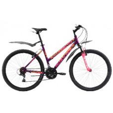 """Велосипед Black One Alta 26 Alloy фиолетово-розовый 16"""""""