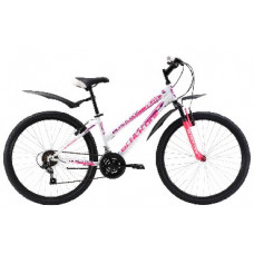 "Велосипед Black One Alta 26 бело-розовый 14,5"""