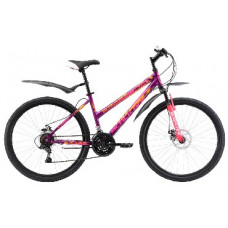 """Велосипед Black One Alta 26 D фиолетово-розовый 14,5"""""""