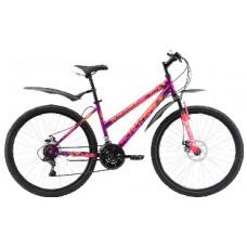"""Велосипед Black One Alta 26 D фиолетово-розовый 16"""""""