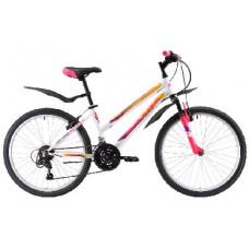 """Велосипед Black One Alta 26 D розовый/фиолетовый/желтый, рама-18"""""""