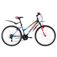 """Велосипед Black One Alta 26 голубой/розовый/жёлтый, рама-16"""""""