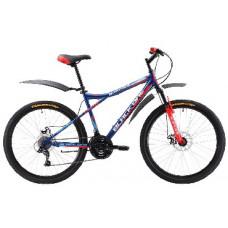 """Велосипед Black One Element 26 D сине-красный 18"""""""