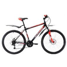 """Велосипед Black One Onix 26 D чёрный/красный/белый, рама-20"""""""