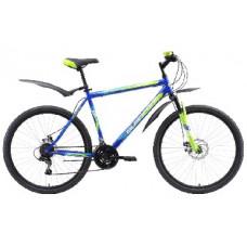 """Велосипед Black One Onix 26 D синий/зелёный/голубой, рама-18"""""""