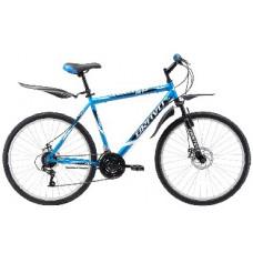 """Велосипед Bravo Hit 26 D сине-белый 18"""""""