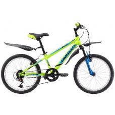 Велосипед Bravo Jazz 20 зелено-голубой