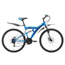"""Велосипед Bravo Rock 26 D голубой/чёрный/белый, рама-20"""""""