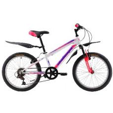 Велосипед Challenger Cosmic Girl 20 бело-синий
