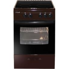 Электрическая плита Лысьва ЭПС 301 МС коричневая стеклокерамика