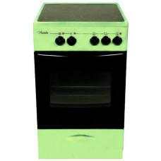 Электрическая плита Лысьва ЭПС 301 МС зеленая стеклокерамика
