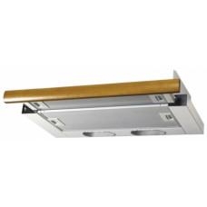 Встраиваемая вытяжка Elikor Интегра 50П-400-В2Л белый/дуб кор
