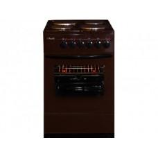 Электрическая плита Лысьва ЭП 4/1э04 МС коричневая б/крышки