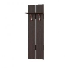 Вешалка Мебель-Комплекс Агат ПР-10 на 2 крючка Венге Цаво