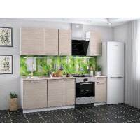 Набор кухонной мебели Барселона 1,8 м ясень-шимо светлый