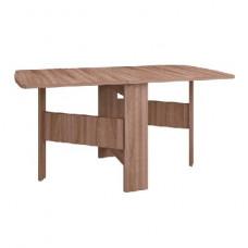Стол-тумба полукруглый Мебель-Комплекс Ясень Шимо темный