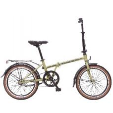 Велосипед Novatrack 20 Aurora складной серебристый