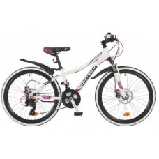 Велосипед Novatrack 24AHD.KATRINA.10WT7 KATRINA 24-10 белый
