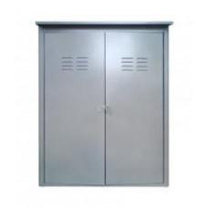 Шкаф для газовых баллонов НЗГА 2х50 Петромаш