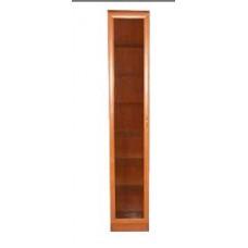 Шкаф Мегаэлатон Верона-1 (2200х300х300) прозр.стекло вишня