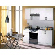 Набор кухонной мебели Мегаэлатон Лиана-Эконом 1700 белый