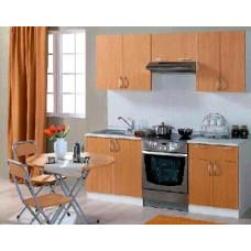 Набор кухонной мебели Мегаэлатон Лиана-Эконом 2000 бук