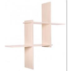 Стелаж Vental Кубик-3 беленый дуб