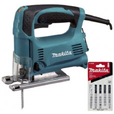 Электролобзик Makita 4329X1+набор A86898