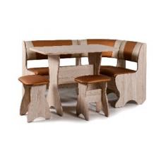 Набор кухонной мебели Бител ТЮЛЬПАН ясень/бронзовый с бежевый