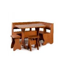 Набор кухонной мебели Бител ТЮЛЬПАН ольха/коричневый