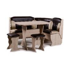 Набор кухонной мебели Бител ОРХИДЕЯ ясень/коричневый с бежевым