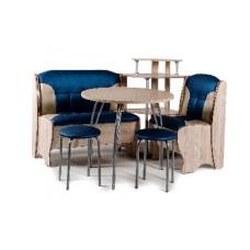 Набор кухонной мебели Бител ЛОТОС ясень/синий с бежевым