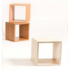 Стелаж Vental Кубик-1 вишня